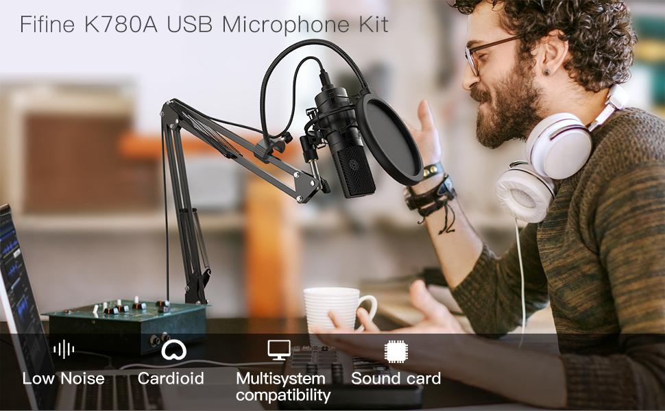 podcast microphone bundle