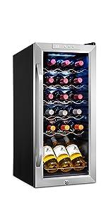 Ivation 18 Bottle Compressor Wine Cooler Refrigerator