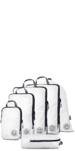large compression cube set, compression cube set for large clothes, large compression cube
