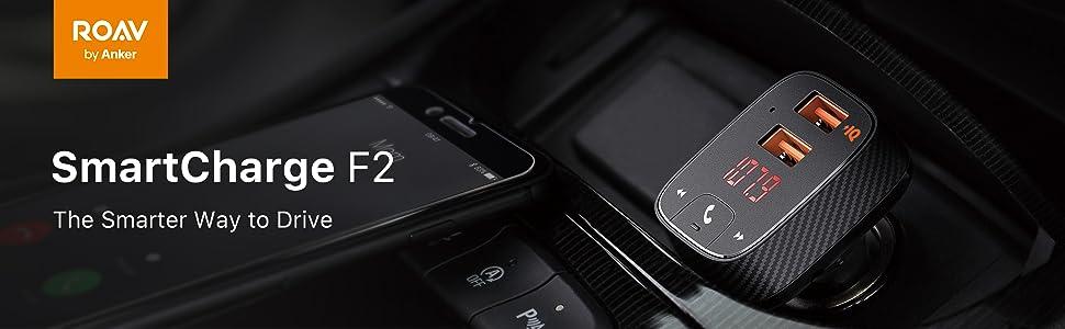 車載充電器 カーチャージャー シガーソケットチャージャー シガーソケット 充電器 車内 充電 Roav FMトランスミッター Anker アンカー ポート 急速充電 QC iPhone