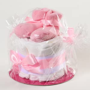 Windeltorte mädchen geschenk taufe baby party