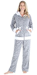 Image of women's fall and winter pajama