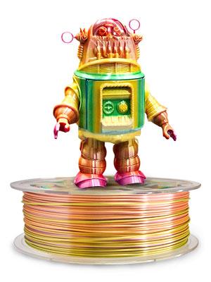 rainbow pla filament