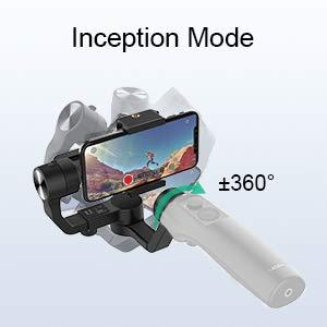 Inception Mode for Amazing Dutch Tilt Shots