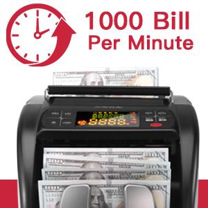 Counts gt; 1000 Bills/Minute
