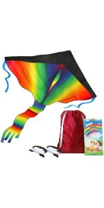 ktie easy to fly with bag for kids and adults