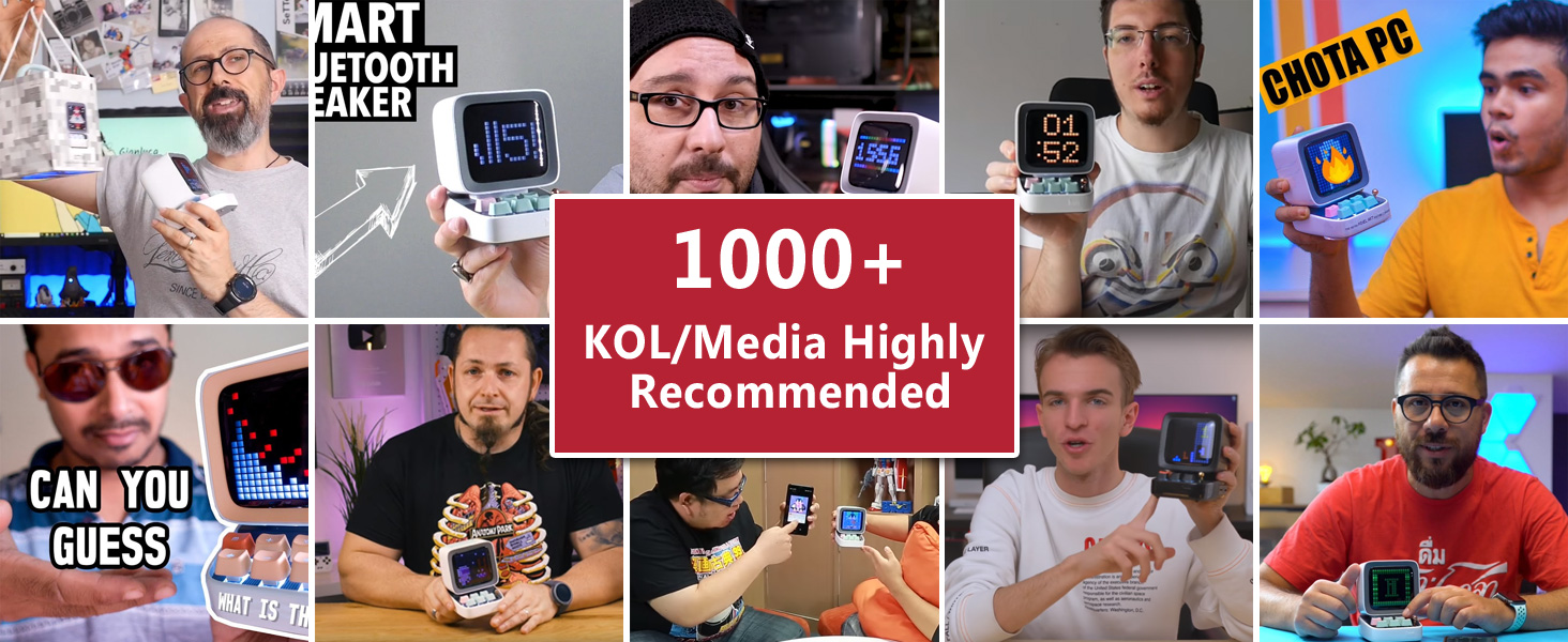 1000+ KOL highly recommended
