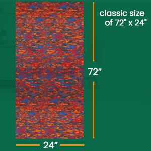 VIFITKIT Multicolour Yoga mat
