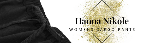 Hanna Nikole Womens Cargo Pants