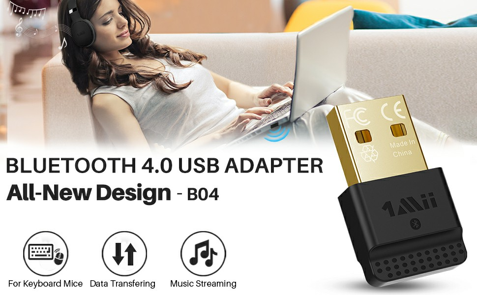 Bluetooth 4.0 USB Adapter