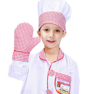chef clothing and chef hat