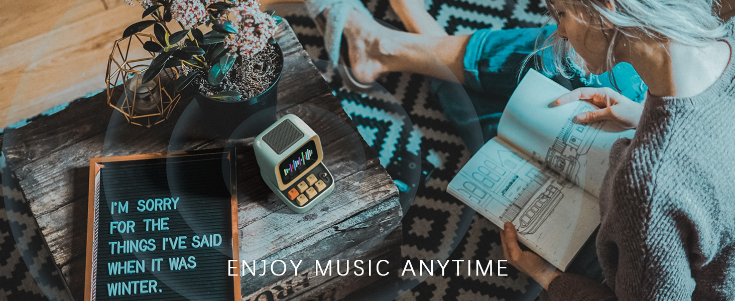 enjoy music anytime