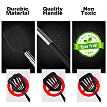 Spoons, Turners, Tongs, Spatulas, Pizza Cutter, Whisk And More