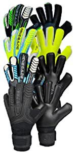Renegade GK Vulcan Series of Goalkeeper Gloves - Includes Trident Surge Abyss