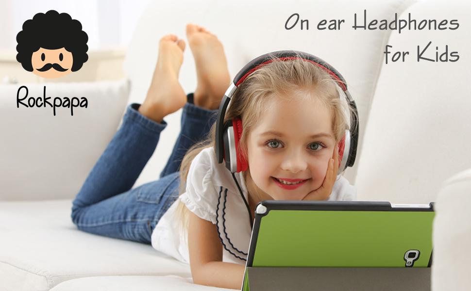 kids headphones, on ear headphones