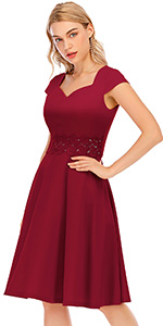 lace embroidery dress for Christmas lace wedding dress cheap floral lacedress for wedding guests