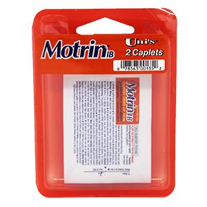 motrin ib neck pain single dose travel size convenient tension headache relief multi symptom easy