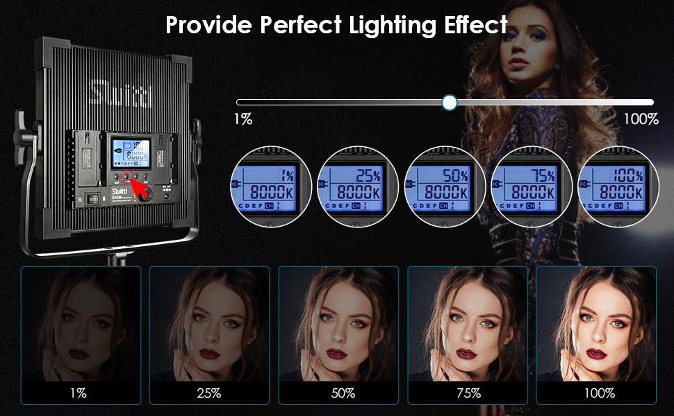 studio lights for video recording