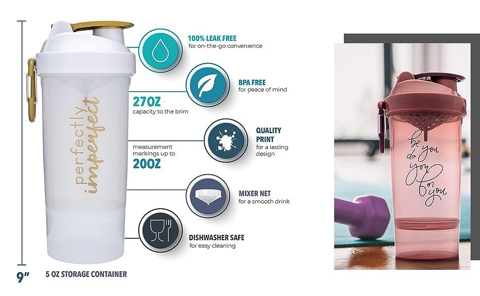 protein shaker bottle smartshaker blender bottle