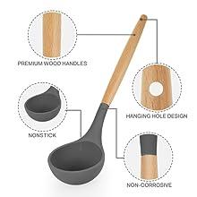 silicone kitchen utensils