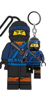LEGO Ninjago Movie Jay Luggage Bag Tag Key Light Duo