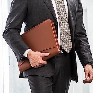 Cossini premium padfolio brown