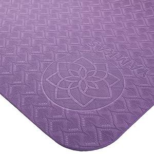 Matt fitness sport mats gym mattress extra large patterned eco exercise Gymnastics pilates bio