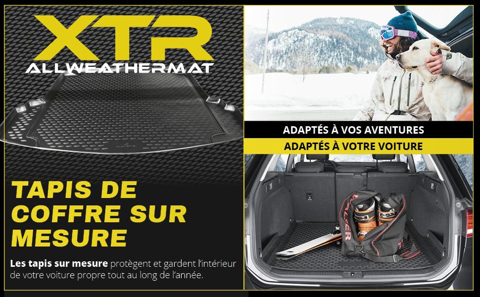 Walser XTR Plateau de coffre compatible avec Mercedes Benz E-Klasse S213 Kombi Ann/ée de fabrication 2016 /à aujourdhui