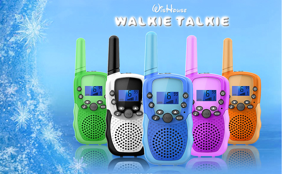 Wishouse Walkie Talkies