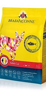 ブラバンソンヌ 猫用 キャットフード 成猫用 フィッシュ味