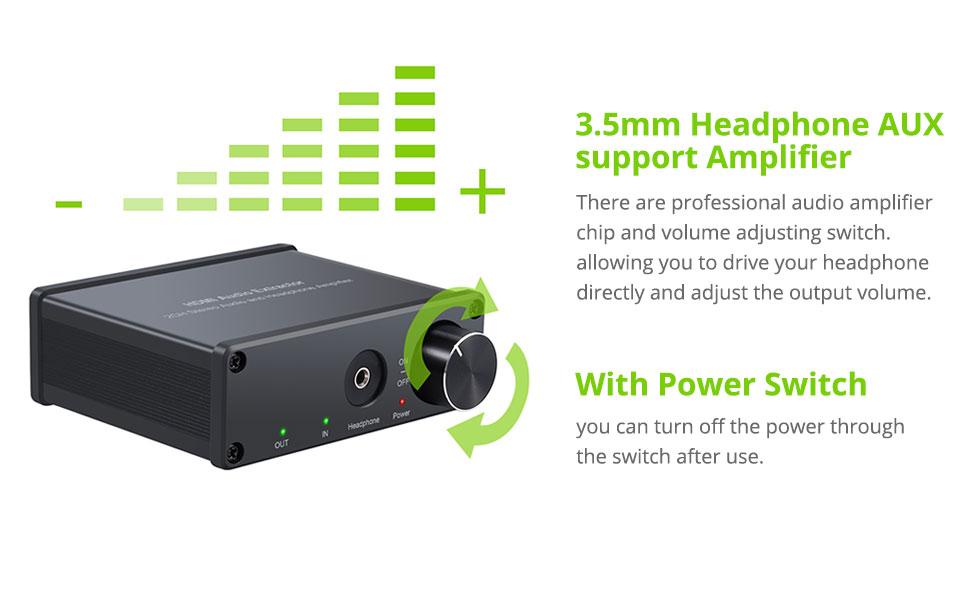 HDMI Audio Extractor Converter