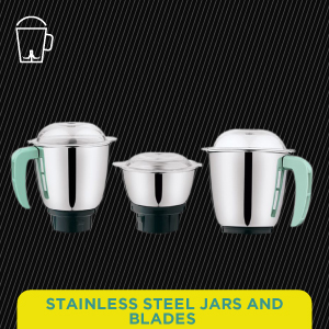 Stainless Steel Jars & Blades