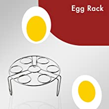 electric pressure cooker wellspire egg rack cooking eggs boiling cook raw egg soft perfect cooking