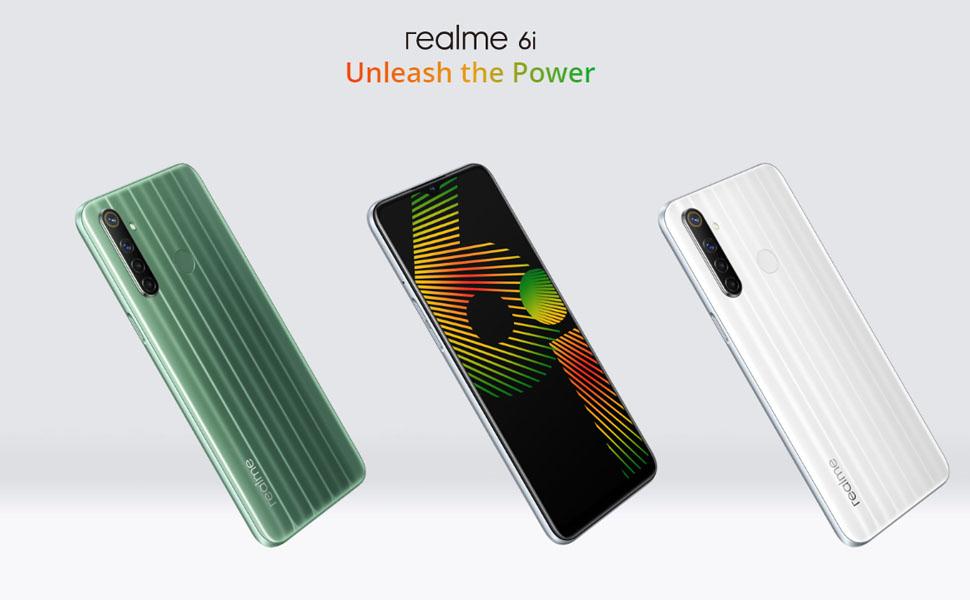 realme 6i 4GB RAM 128GB ROM Smartphone Móvil, 6.5 48MP con ...