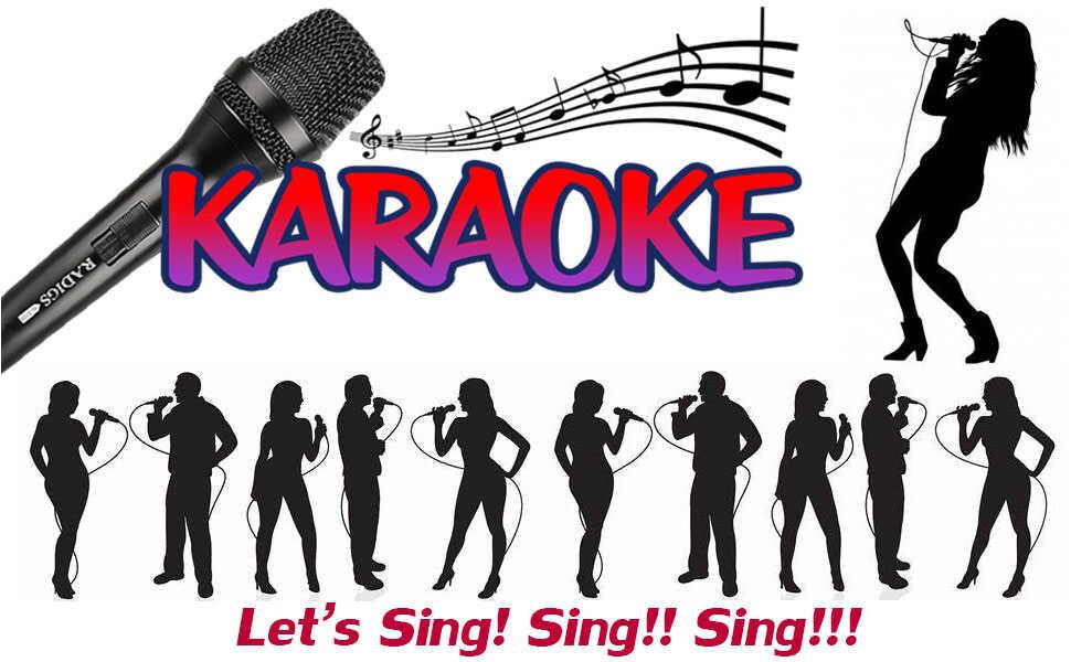 vocal dynamic microphone mics for karaoke singing machine