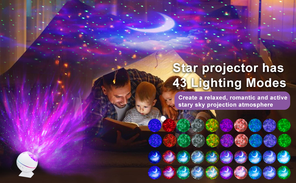 night light projector for kids
