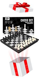 Magnetiskt schackspel schackspel