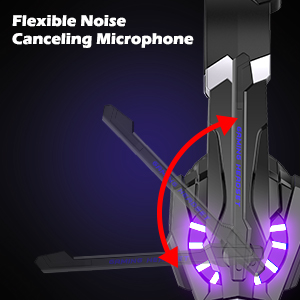 ---120°Noise Canceling Microphone---