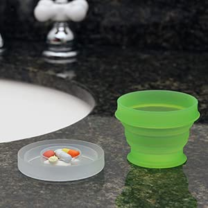 double decker chamber to organize pills