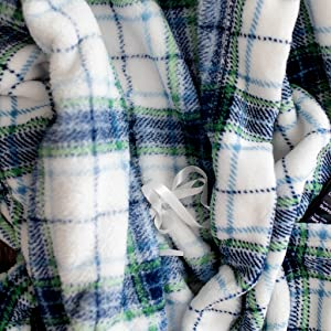 mens robe inside tie