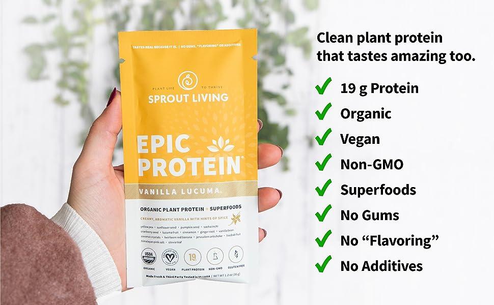 epic vanilla lucuma benefits, vanilla protein benefits