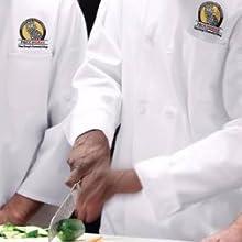 custom chef uniform