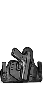 Holster cloak tuck alien gear glock 19 17 sig sauer p320 p365 iwb clips kydex hybrid trigger guard