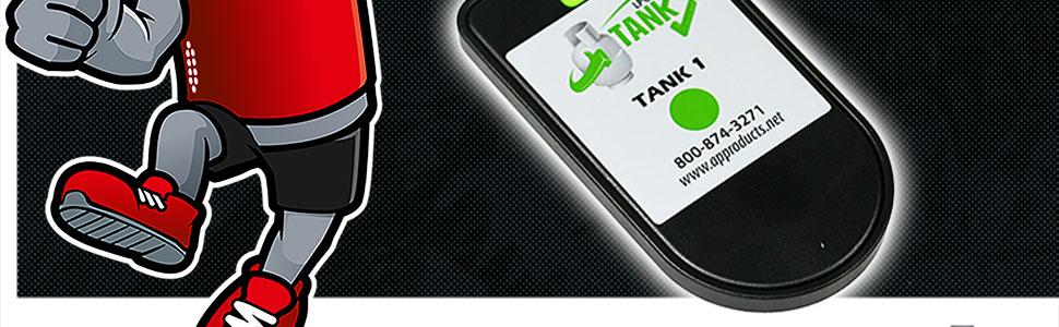 Gas Level Control Check Gasmesser f/ür Stahlflaschen F/üllstandsanzeiger F/üllanzeige f/ür Camping und Wohnmobil Gasflaschen Inhaltsanzeige by MOPEKA Bluetooth