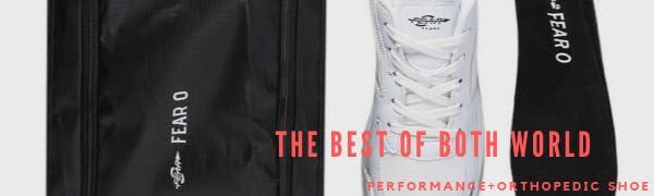 performance orthopedic shoe