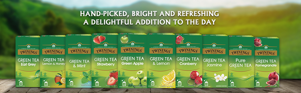 Twinings Green Tea, Green Apple, 25 Tea Bags