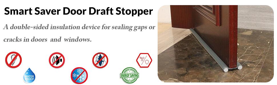 door draft stopper