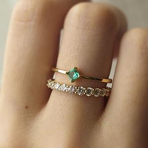 stacking ring dainty for women girls