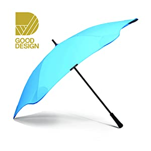 """Built to Last BLUNT Classic Stick Umbrella with 47/"""" Canopy Wind Resistant Radial Tensioning System Perfect for Commuting"""