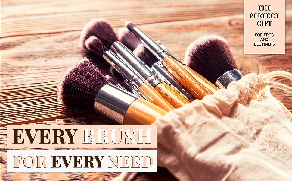 mekeup brushes